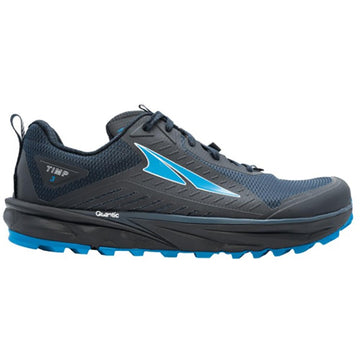 Quarter view Men's Altra Footwear style name Timp 3 in color Dark Blue. Sku: AL0A4VQI-442
