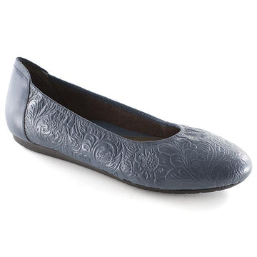 Womens Aneshaha Ballet Tooled In Denim