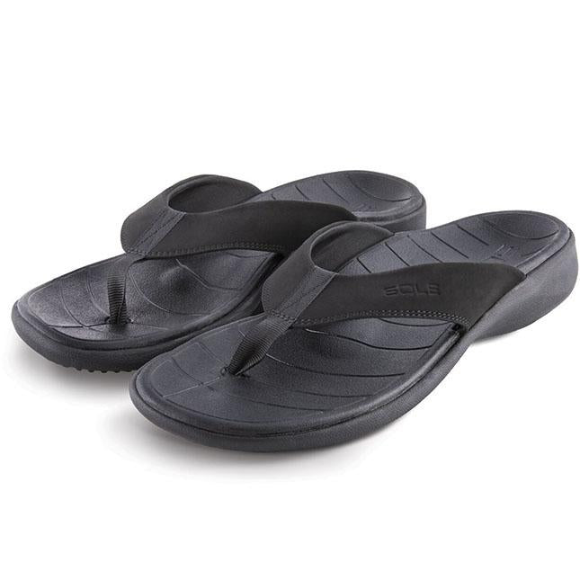 Mens Sole Catalina Flip In Black