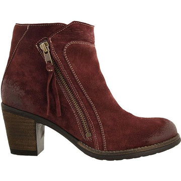 Taos Dillie Wine Suede