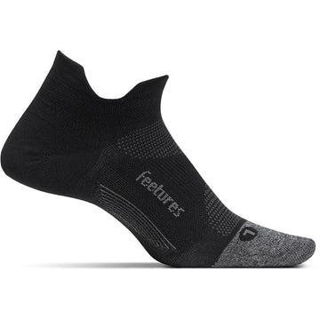 Unisex Feetures Elite Light Cushion No Show in Black sku: E50159