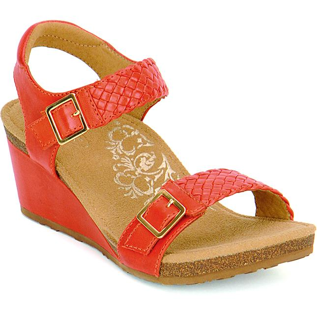 Women's Aetrex Grace in Tangerine sku: EW168