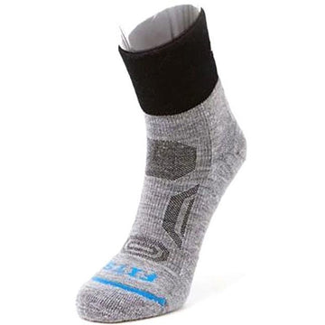 unisex Fits Micro Light Trail Quarter in Charcoal sku: F1007-015