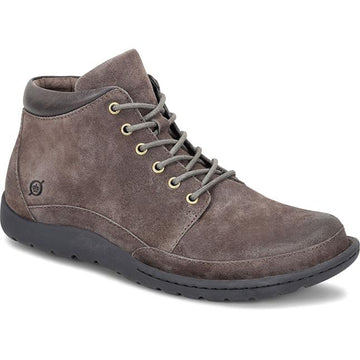 Mens Born Nigel Boot In Grey Distressed