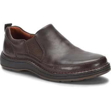 Men's Born Kent Slip On in Dark Brown