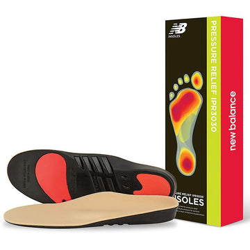 Unisex New Balance Pressure Relief With Met Pad in Neutral sku: IPR3030