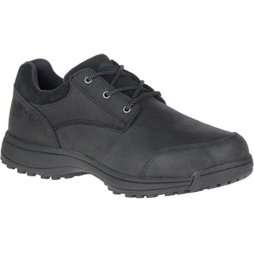 Men's Merrell Sutton Oxford Ac+Pro Sr in Black sku: J77703