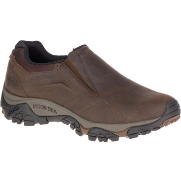 Men's Merrell Moab Adventure Moc Wide in Dark Earth