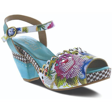 Women's L'Artiste Jivvi in Sky Blue Multi sku: JIVVI-SKYM