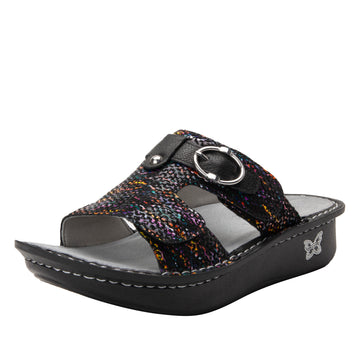 Quarter view Women's Alegria Footwear style name Kasha in color Diversified. Sku: ALG-7745