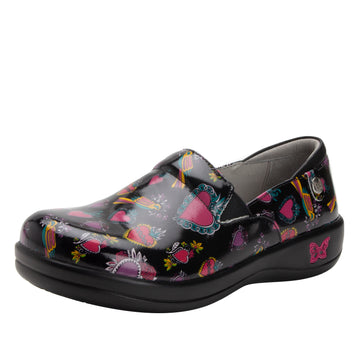 Quarter view Women's Alegria Footwear style name Keli in color Frida. Sku: ALG-7704