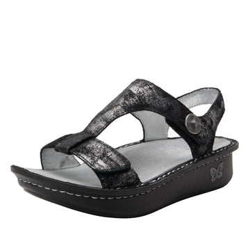 Quarter view Women's Alegria Footwear style name Kerri in color Smolder. Sku: ALG-7748