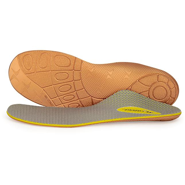 Lynco L820W Train Insole Low Arch Orthotic Tan