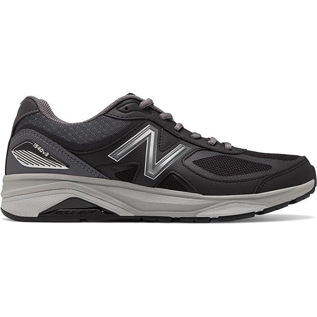 Men's New Balance M1540MBK3 in Black/ Castlerock sku: M1540BK3