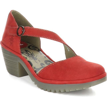 Women's Fly London Wako in Lipstick Red sku: P501144-007