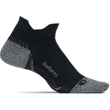 Unisex Feetures Pf Relief Ultra Light No Show in Black sku: PF55159