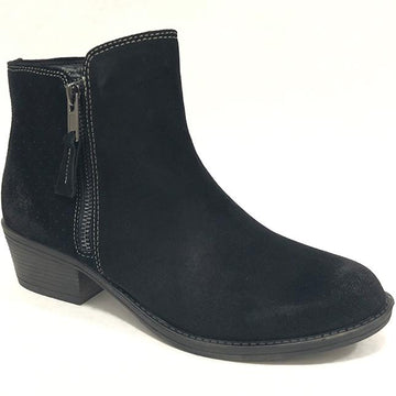Women's Biza Plymouth in Black Suede sku: PLYMOUTH-BLKSD