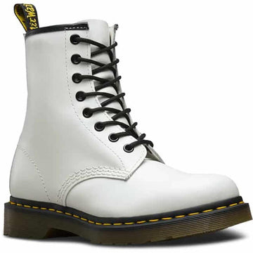 Women's Dr Marten 1460 8I Smooth in White Smooth sku: R11822100
