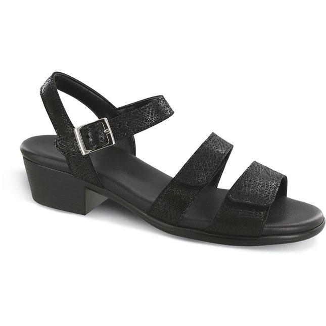 Womens Sas Savanna In Web Black