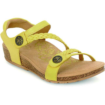 Women's Aetrex Jillian in Lemon sku: SC466