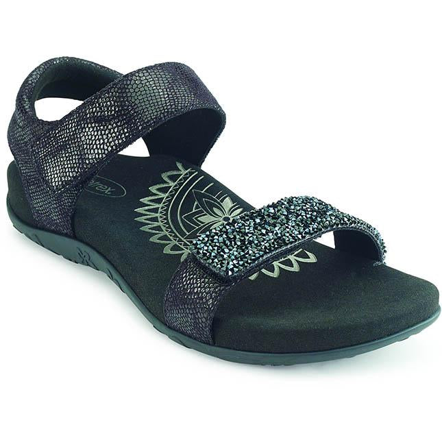 Women's Aetrex Maria Jeweled in Black sku: SE280