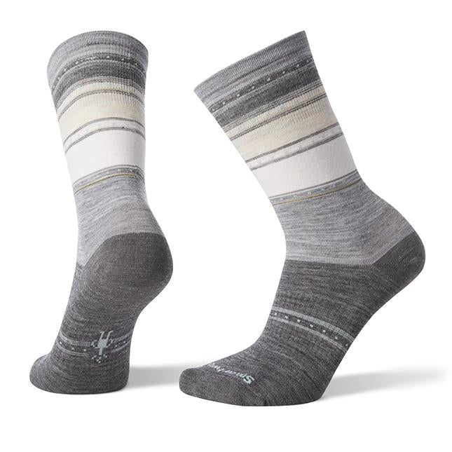 Women's Smartwool Sulawesi Stripe in Light Gray sku: SW003900039