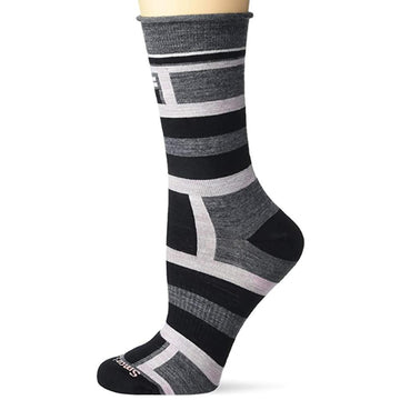 Women's Smartwool Nonbinding Pressure Free Strip in Medium Gray sku: SW004014052