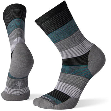 Men's Smartwool Pressure Free Chronology Crew in Black sku: SW004015001