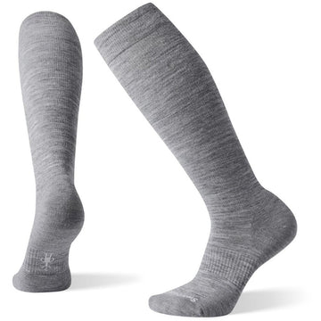 Women's Smartwool Compression Light Elite in Lunar Gray sku: SW004079E47