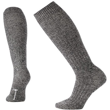 Smartwool Wheat Fields Knee High Charcoal Heather/ Winter White