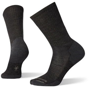 Men's Smartwool Heathered Rib in Charcoal sku: SW0SW164003
