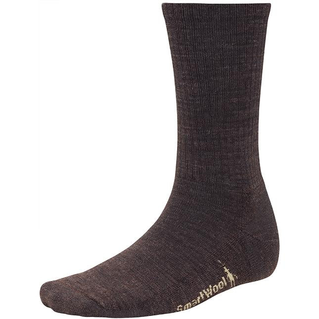 Men's Smartwool Heathered Rib in Chestnut sku: SW0SW164207
