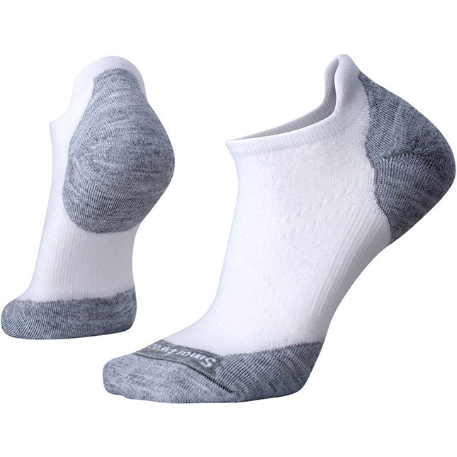 Smartwool Phd Run Light Elite Micro White Light Gray