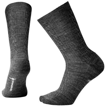 Women's Smartwool Cable Ii in Gray