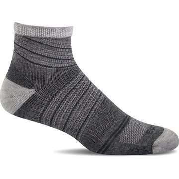 Sockwell Pacer Quarter Charcoal