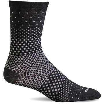 Women's Sockwell Plantar Ease Crew in Black sku: SW72W-900