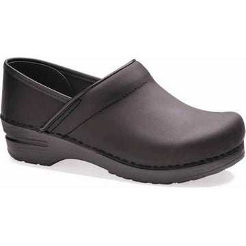 Dansko Professional Black Oiled Leather