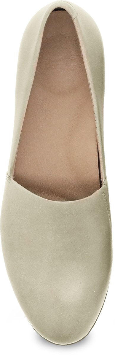 Top view Women's Dansko Footwear style name Larisa in color Linen Milled. Sku: 2036-440600