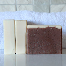 Load image into Gallery viewer, Cafe Mocha - Lightly Exfoliating Handmade Soap