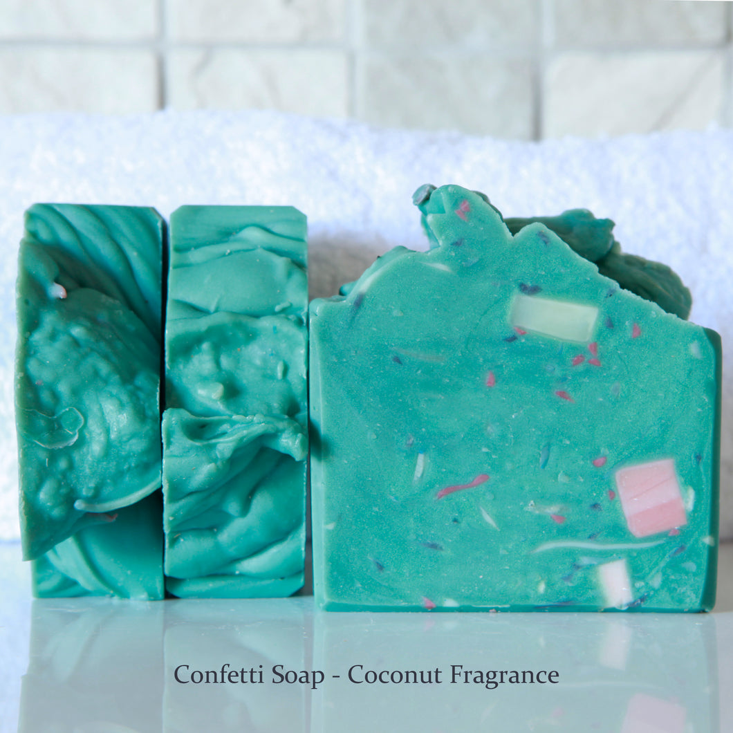 Confetti Handmade Soap - Coconut Fragrance