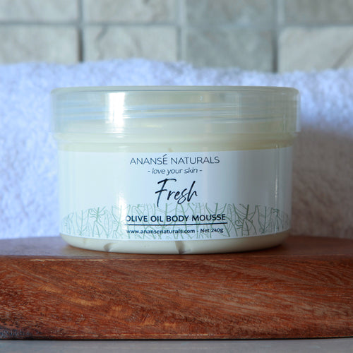 Fresh - Olive Oil Body Mousse from Anansé Naturals