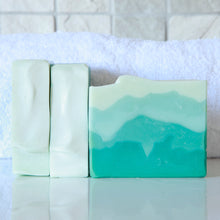 Load image into Gallery viewer, Still Bay Sea soap, handmade soap with real sea salt. Naturally handmade by Anansé Naturals.