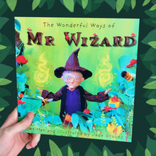 Load image into Gallery viewer, The Wonderful Ways of Mr Wizard - Children's picture book