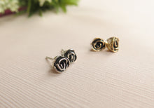 Load image into Gallery viewer, Classic Rose Stud Earrings
