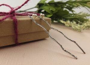 Twig Long Earrings