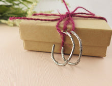 Load image into Gallery viewer, Twig Hoop Earrings