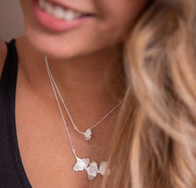 Load image into Gallery viewer, Single Ginkgo Leaf Necklace
