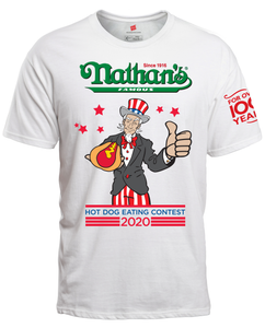Official 2020 Hot Dog Eating Contest Tee