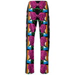 Load image into Gallery viewer, Pink Fleur Pants - MASH Gallery