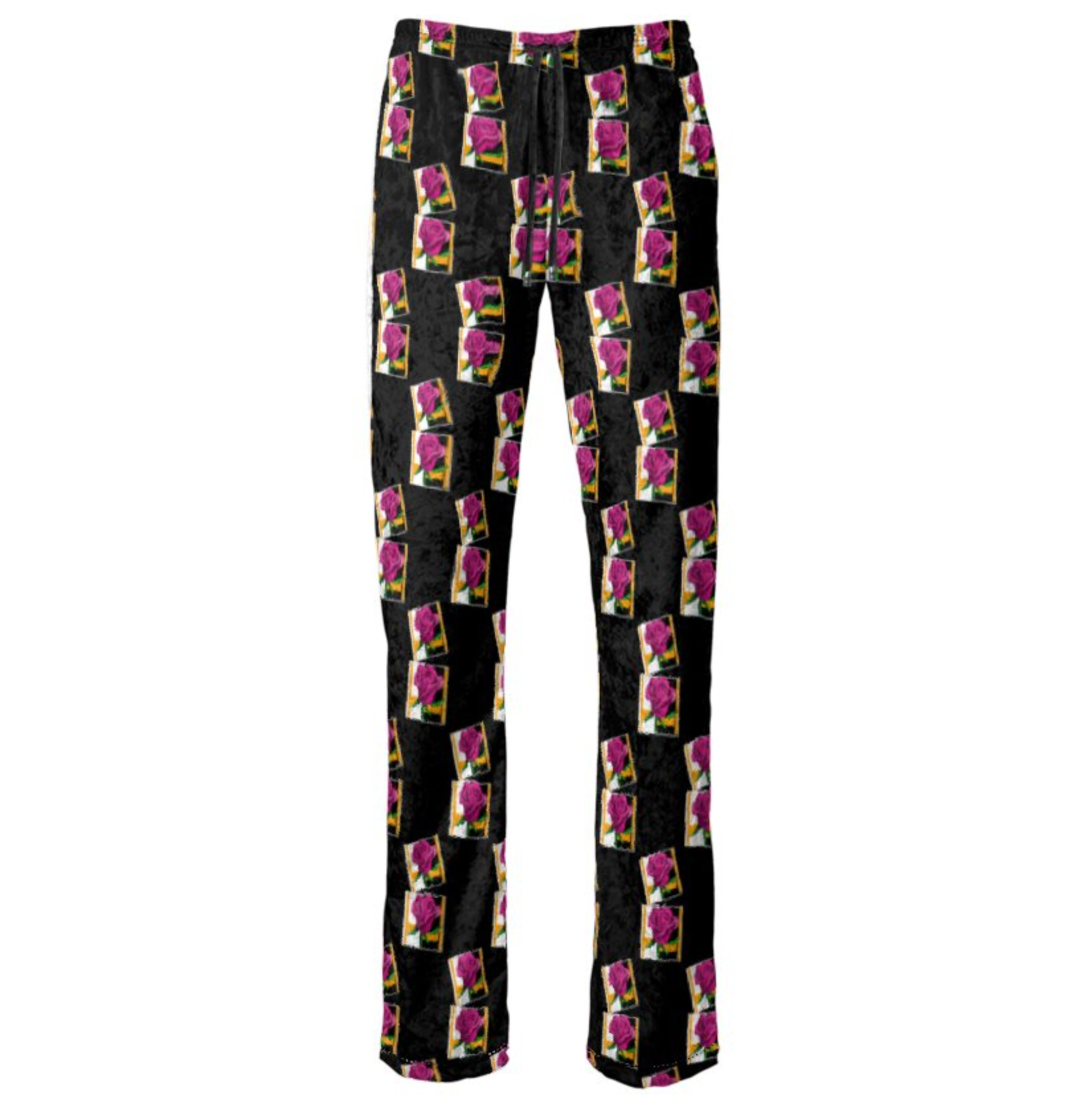 Pink Rose Collage Pants - MASH Gallery